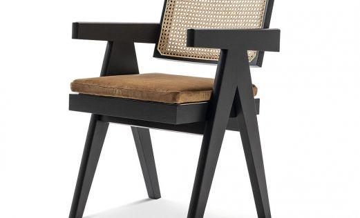 Cassina produce 4 muebles del diseñador suizo Pierre Jeanneret