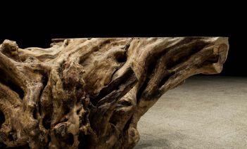 Troncos de madera, la pieza de interiorismo sostenible que es tendencia también para mobiliario