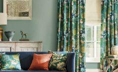 Sanderson Caspian una colección de tejidos y telas inspiradas en el lejano Oriente