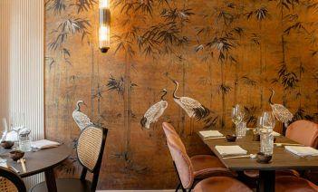 Las 5 ventajas del papel pintado en la decoración de restaurantes