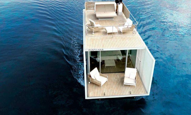 Punta de Mar, un alojamiento flotante conectado 100% con la naturaleza