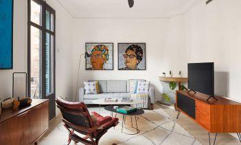 El piso más ecléctico y arty de Sant Antoni