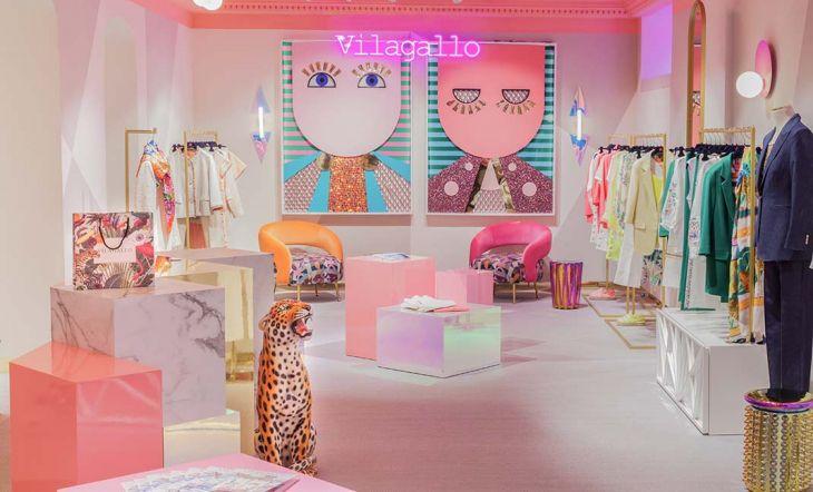 Nueva tienda de Vilagallo en Serrano 25 diseñada por Nuria Alía