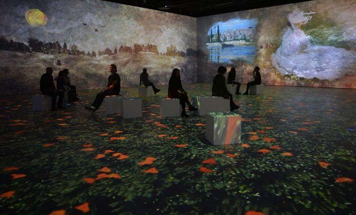 El impresionismo de Monet cobra vida en Barcelona