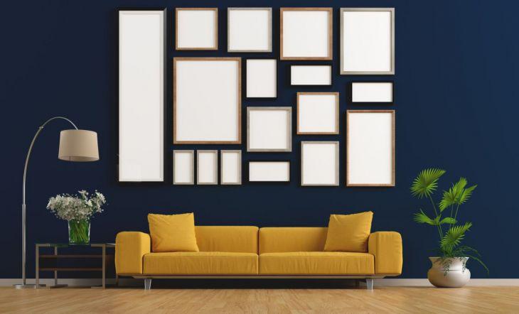 Cómo decorar tus paredes sin agujeros