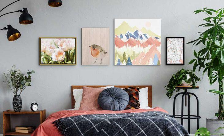 Cómo hacer de las paredes de tu casa una galería de arte