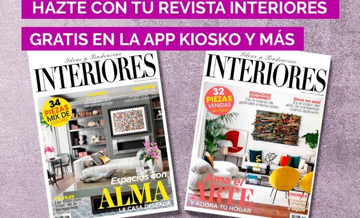 La revista INTERIORES, gratis en tu móvil