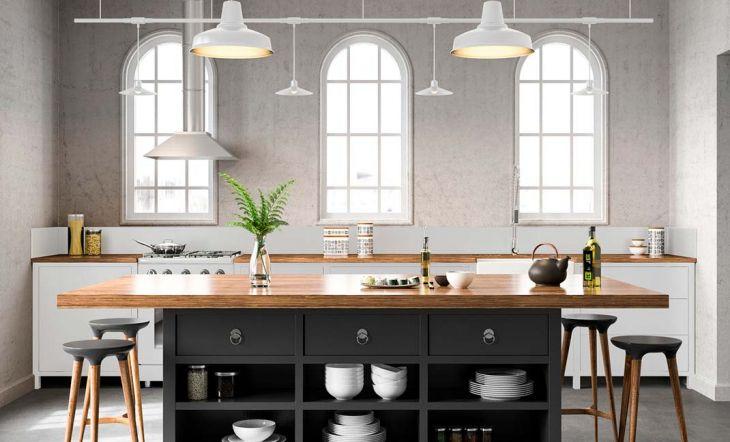 El color negro conquista las cocinas actuales