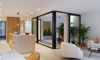 Espacios abiertos en un piso de Alicante