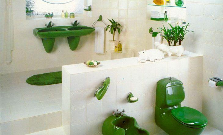 La colección ergonómica de Luigi Colani que transformó el baño en un espacio habitable