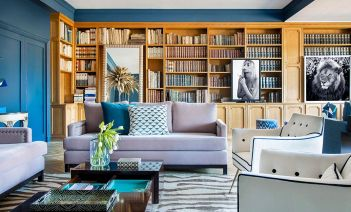 Sillones y mesa  de centro diseño de  AS Interiorista