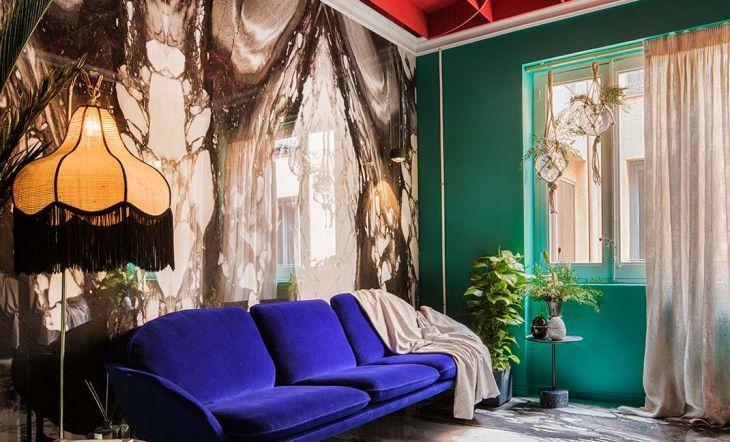 Sala de televisión de Gabriel Bautista, de Antro Design.