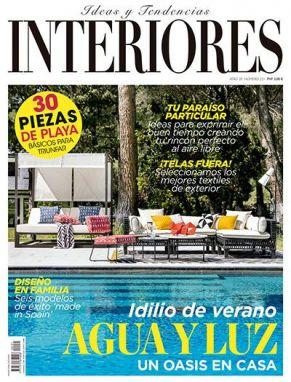 Portada revista interiores número julio y agosto