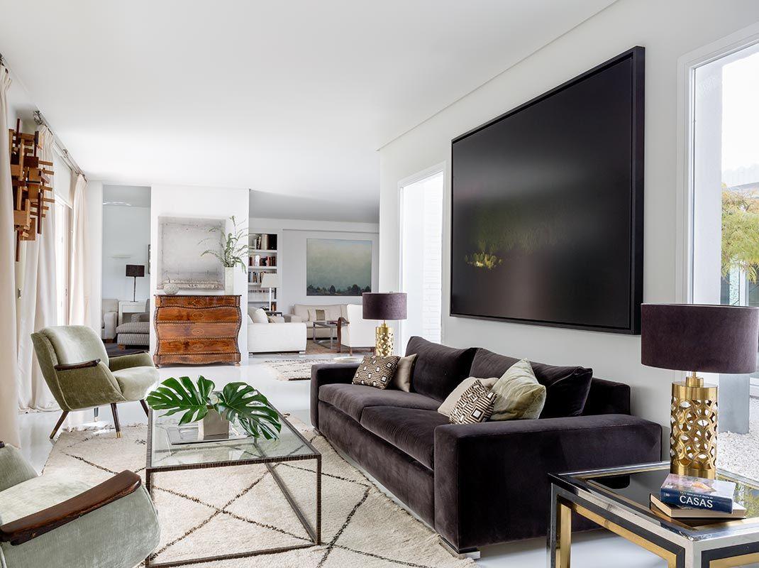 Eterno porte, decoración atemporal en una vivienda con personalidad y estilo