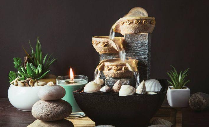 Crea en tu hogar un ambiente zen con estas fuentes de interior