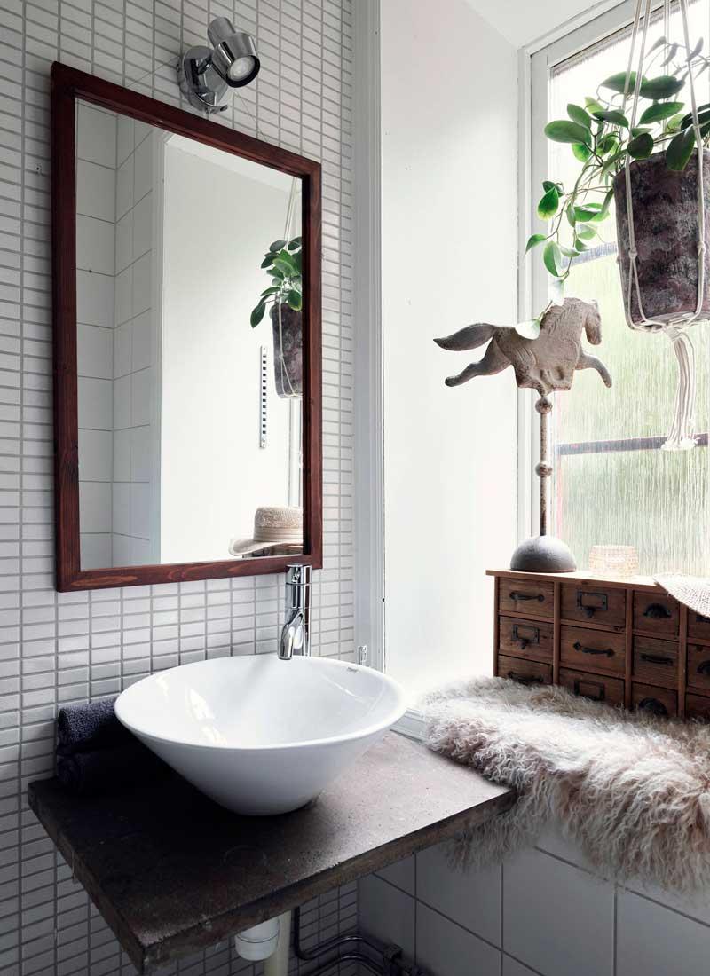 Grandes ideas para sacar partido a un cuarto de baño pequeño
