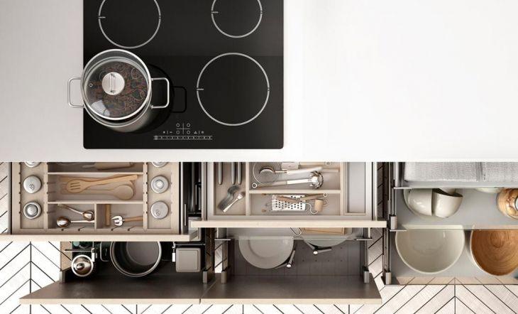 Las 4 reglas de las cocinas organizadas