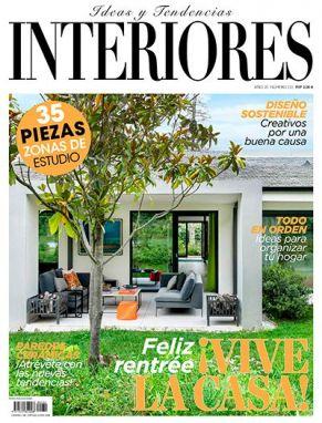 Portada revista interiores número septiembre